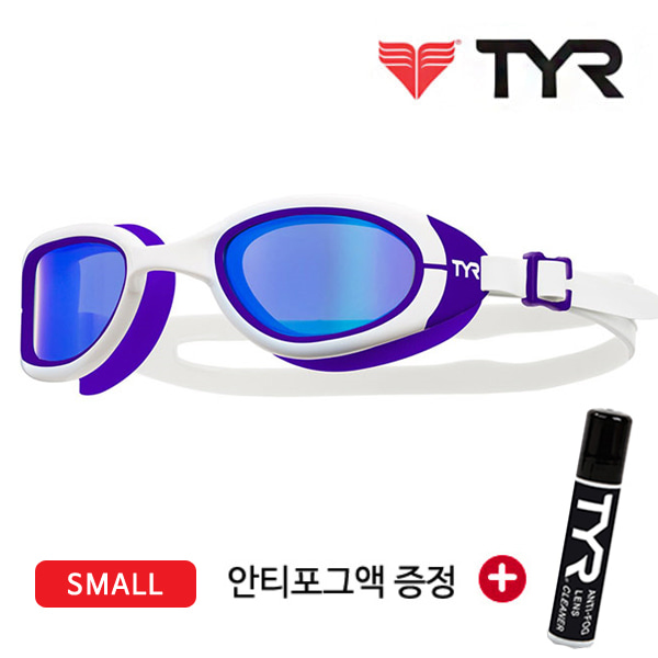 TYR(티어)오픈워터/편광렌즈 수경 LGSPS(WT/PUR)