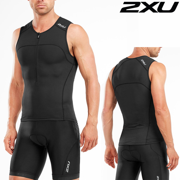 2XU 철인3종 경기복 Men's Active Tri Set MT4863a/MT4864b- BLK