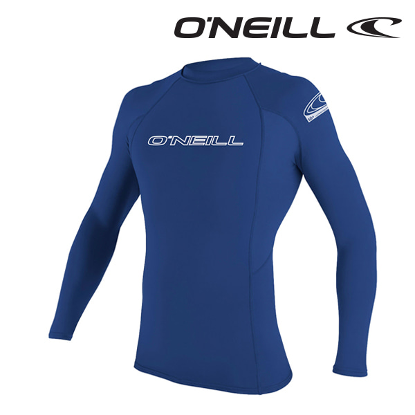 오닐 남성 래쉬가드 3342 BASIC SKINS L/S RASH GUARD - PACIFIC