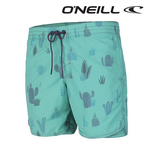 Oneill(오닐)남성 보드숏 503220 DUNE DISCOVRS BOARDSHORT - GREEN AOP
