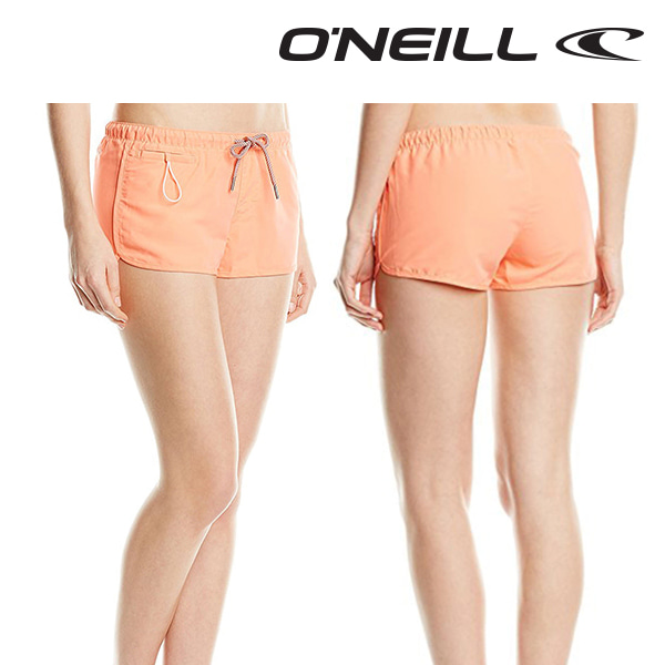 Oneill(오닐)여성 보드숏 508132 CHICA SOLID BOARDSHORT - FUSION CORAL