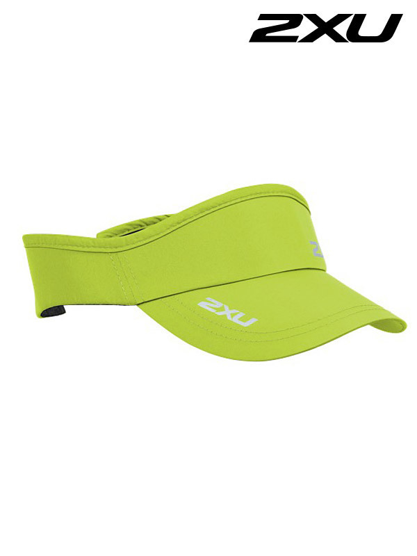 2XU 런바이저 Run Visor Wild Lime