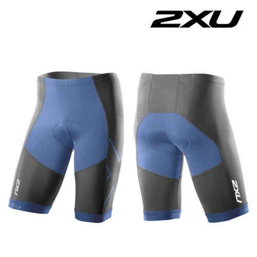 2XU(투엑스유)철인3종 경기복  2XU Men's Perform Compression Tri Short  (MT3101b) Charcoal Blue
