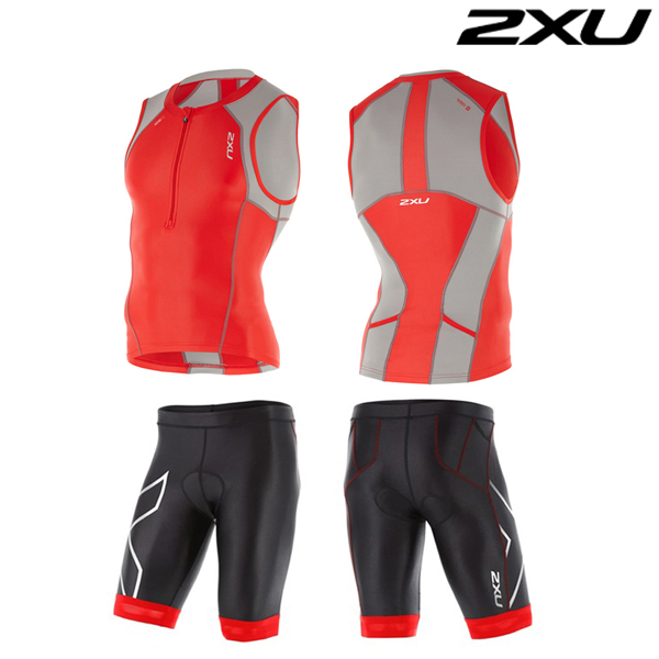 2XU 철인3종 경기복 Man's Compression Tri Set-MT4440a(FSC FRG)