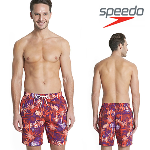 "스피도 남자 비치반바지 Printed Leisure 18"" Watershort SWA-SE130 PU"