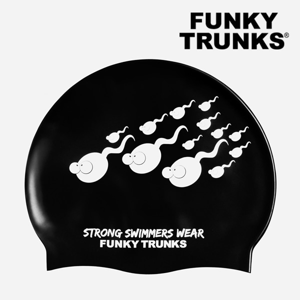 FUNKY TRUNKS(펑키트렁크)실리콘 수모 FT9901243 - STRONG SWIMMERS