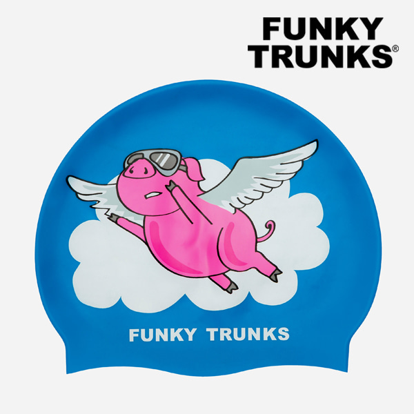 [FUNKY TRUNKS] 펑키트렁크 실리콘 수모 FT9901573 - THE FLYING PIG
