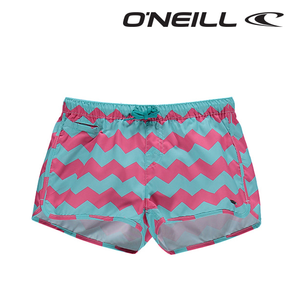 오닐 여아동 보드숏 508172 LAUREN BOARDSHORT - PURPLE AOP