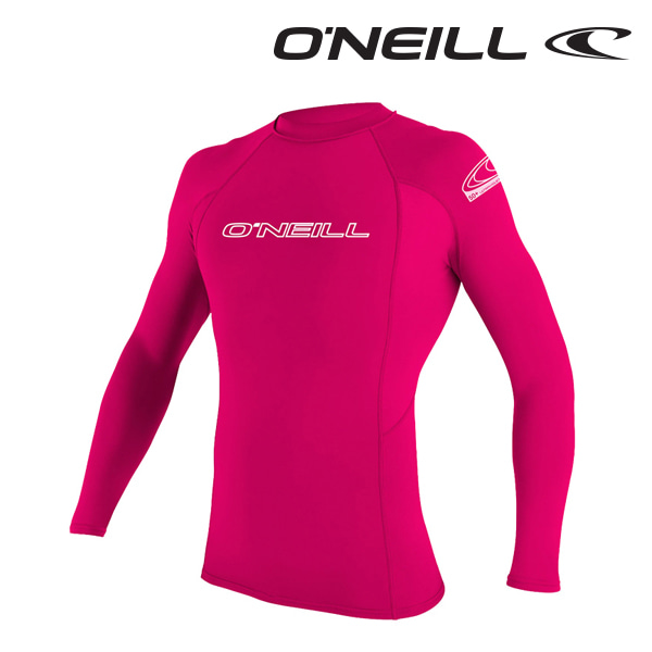 Oneill(오닐)주니어 래쉬가드 3346 YOUTH BASIC SKINS RASH GUARD - WATERMELON