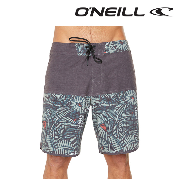 오닐 남성 보드숏 5211801 DISTORTION BOARDSHORT - BLACK AOP