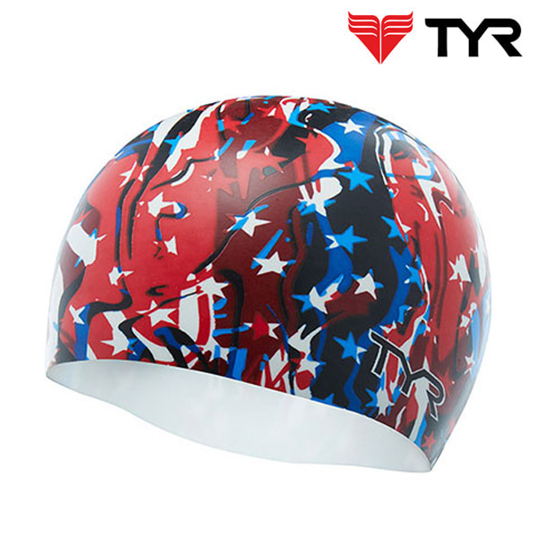 TYR(티어)실리콘수모 LCSFIRE-RDE/WHITE/BLUE