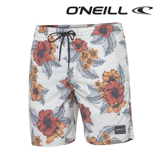 Oneill(오닐)남성 보드숏 503224 PARADISE BOARDSHORT - WHITE AOP