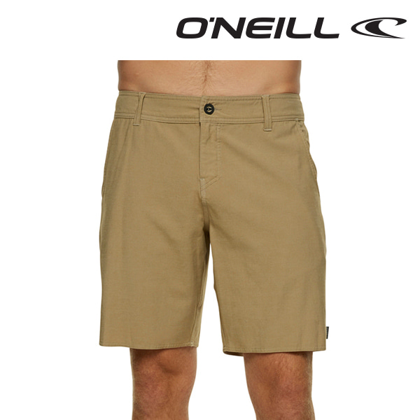 오닐 남성 보드숏 4011817 LOCK IN HYBRID BOARDSHORT - KHAKI