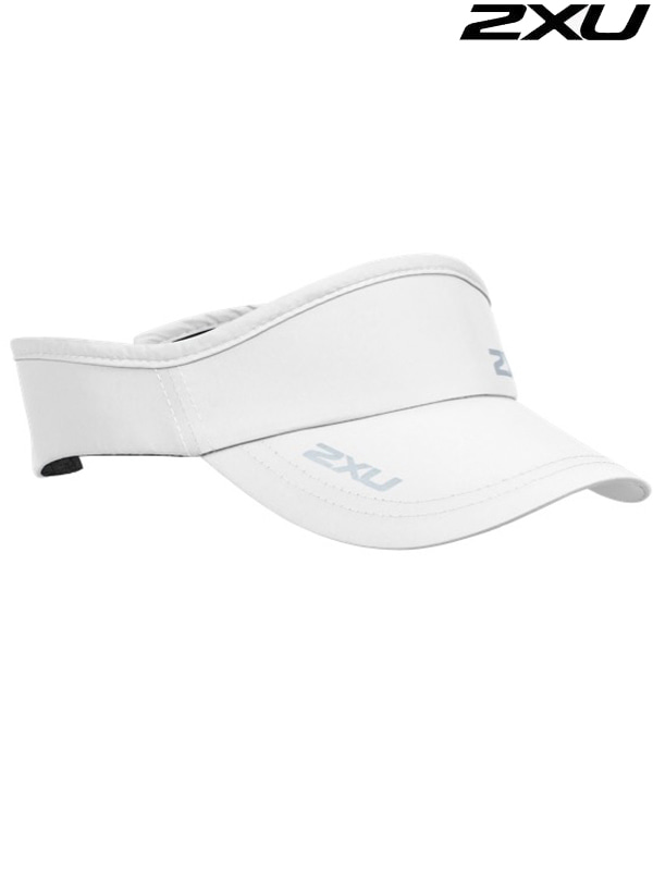 2XU 런바이저 Run Visor WHT