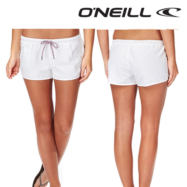 Oneill(오닐)여성 보드숏 508132 CHICA SOLID BOARDSHORT - SUPER WHITE