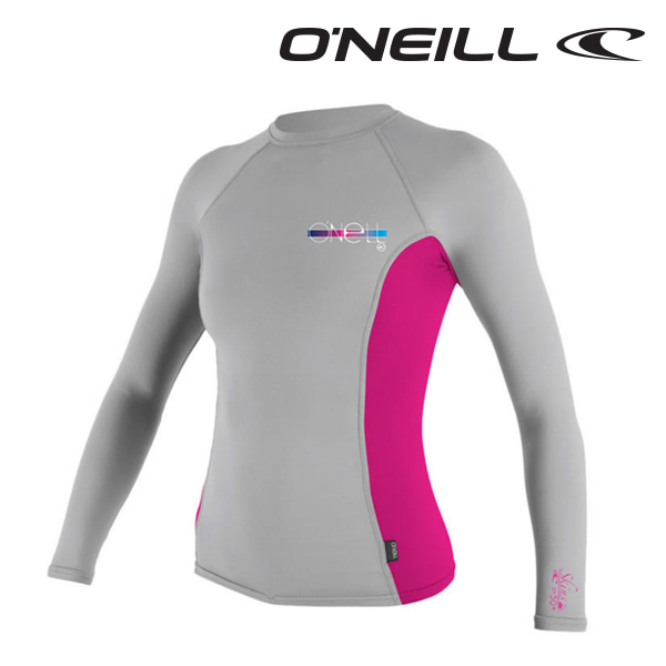 오닐 여성 래쉬가드 4172 W SKINS RASH GUARD - LUNAR BERRY
