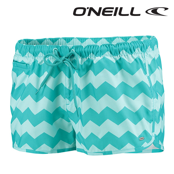 오닐 여성 보드숏 508110 RUBY BOARDSHORT - GREEN AOP