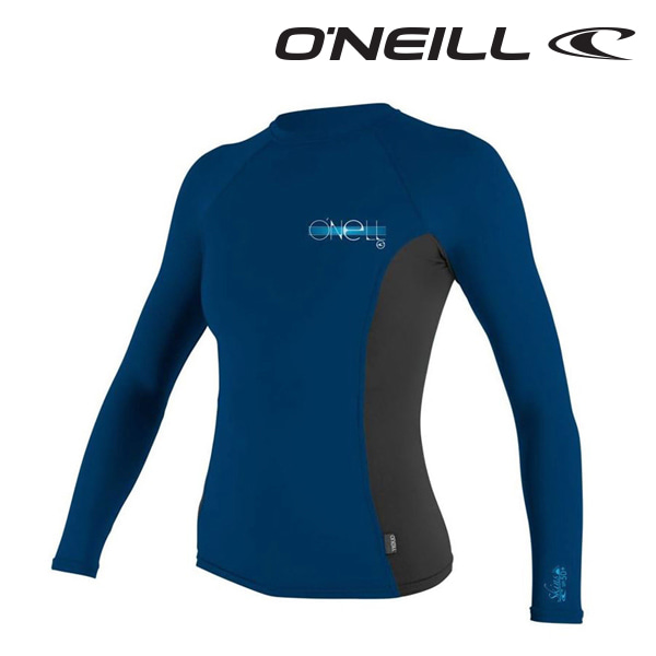 Oneill(오닐)여성 래쉬가드 4172 W SKINS RASH GUARD - DEEPSEA BLACK