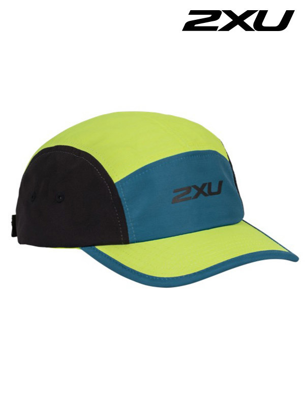 2XU 런 립스탑 Run Ripstop Camper Corsair/Wild Lime