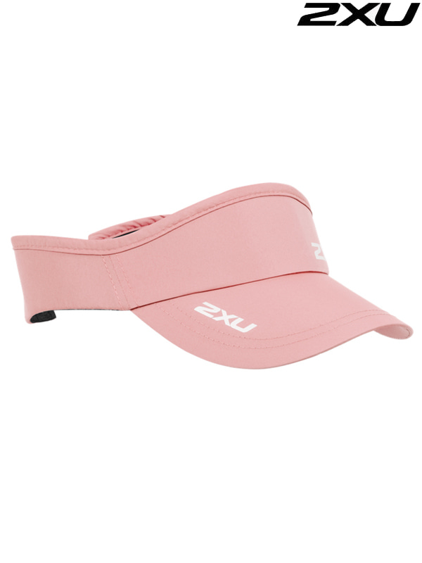 2XU Run Visor 런바이저 BLM/WHT