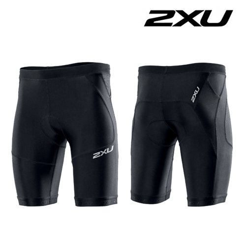 "2XU(투엑스유)철인3종 경기복  2XU Men's Perform 9"" Tri Short (MT2704b) Black"