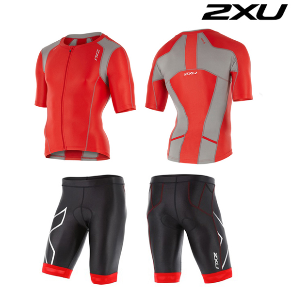 2XU 철인3종 경기복  Man's Compression Sleeved Tri Set-MT4439a(FSC_FRG)