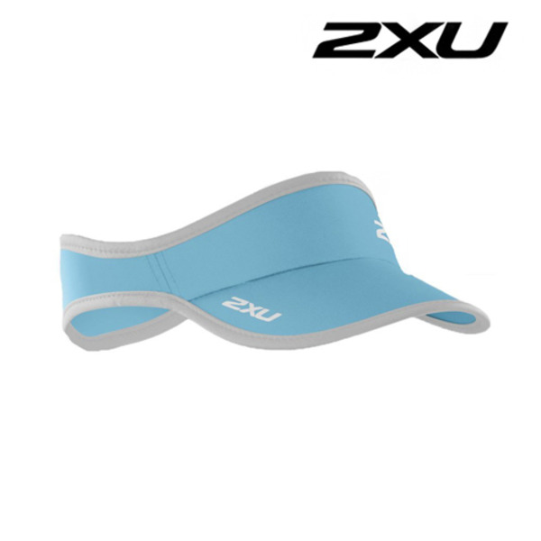 2XU 런바이저 Run Visor BLA/WHT