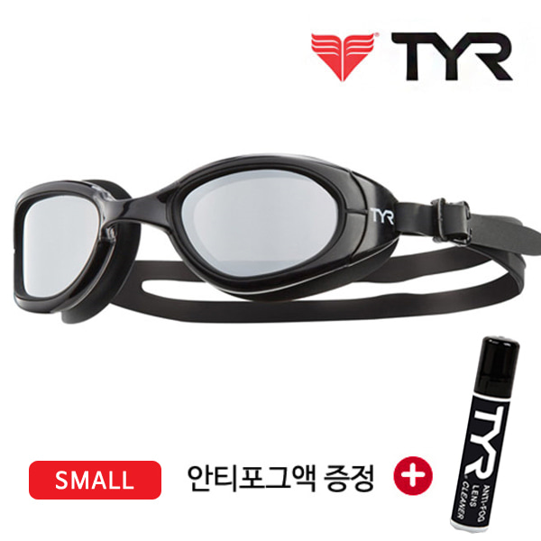 TYR 티어 오픈워터 편광렌즈 수경 LGSPS BLK
