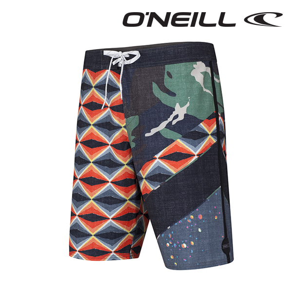 오닐 남성 보드숏 503106 JORDY FREAK OUT BOARDSHORT - BLACK AOP