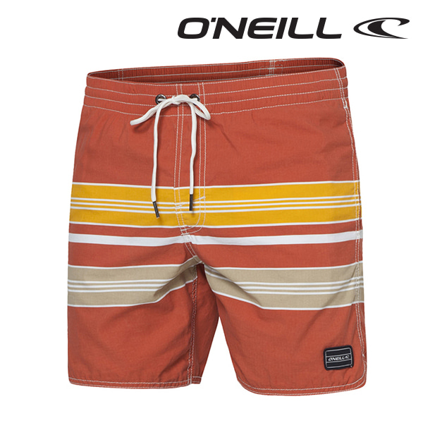Oneill(오닐)남성 보드숏 503228 CHAMBERS BOARDSHORT - RED/W YELLOW