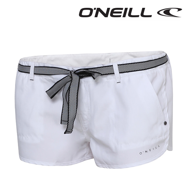 오닐 여성 보드숏 508131 CHICAS SOLID SHORTY BOARDSHORT - SUPER WHITE
