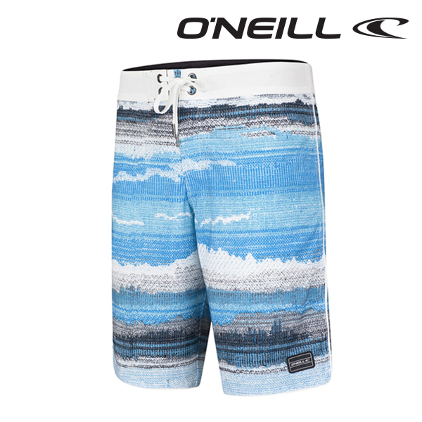 오닐 남성 보드숏 503108 HYPERFREAK RADIATE BOARDSHORT - BLUE AOP