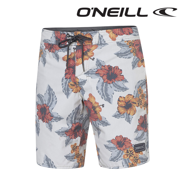 Oneill(오닐)남성 보드숏 503140 ALOHA BOARDSHORT - WHITE AOP
